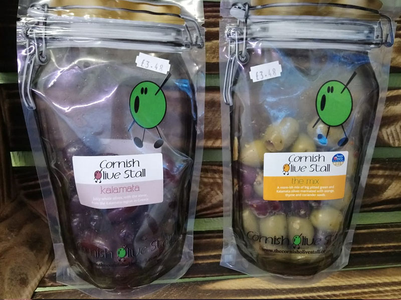 Cornish Olive Stall Kalamata Black Olives