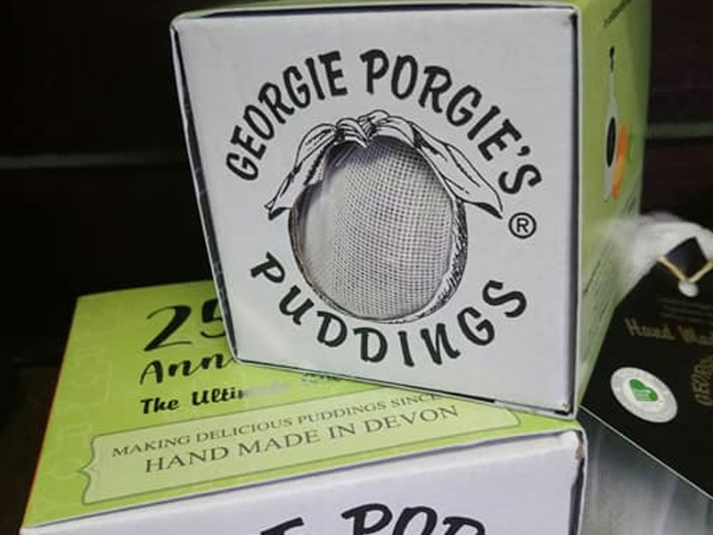 Gorgie Porgie 25th Anniversary Ultimate Gin Pudding 454g