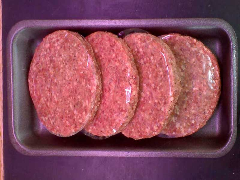 4 x Beef Steak Burgers (75g each)