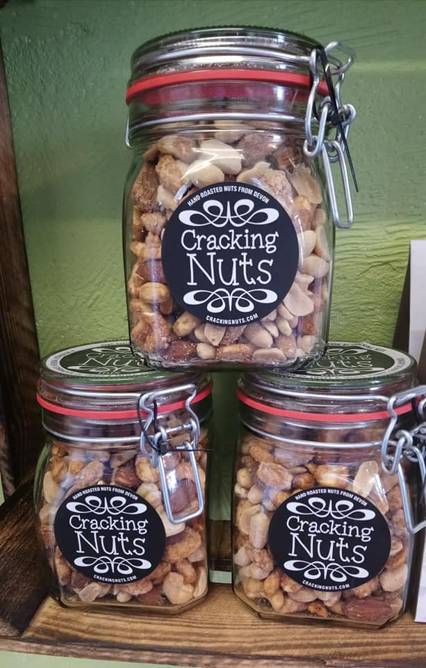 Hand Roasted Nuts in Devon by Cracking Nuts