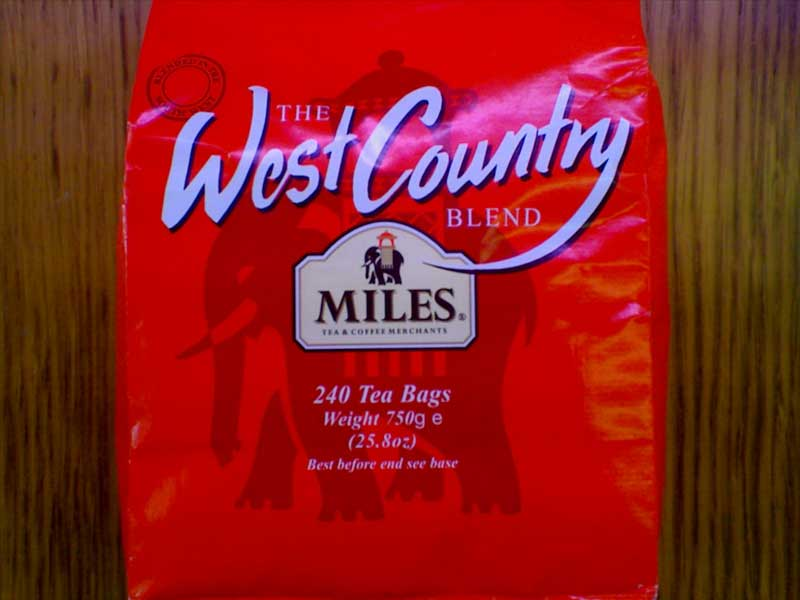 Miles West Country Tea 240 tea bag pack