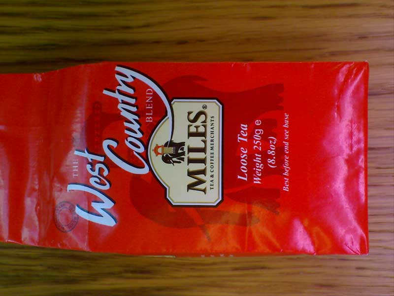 Miles West Country Tea 250g (Loose)