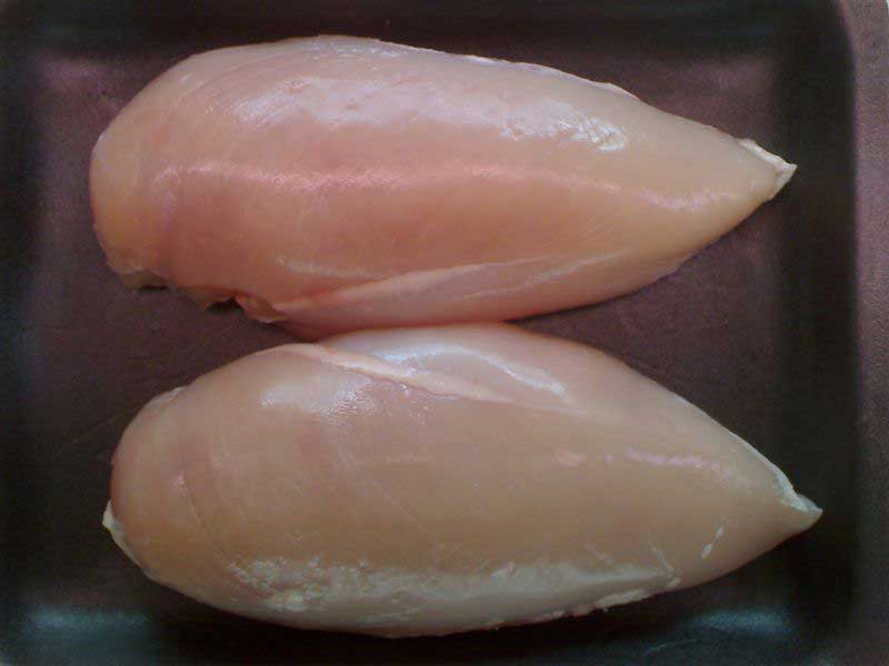 Barn Reared b/l Skinless Chicken Breasts (2 x 170g breasts per p
